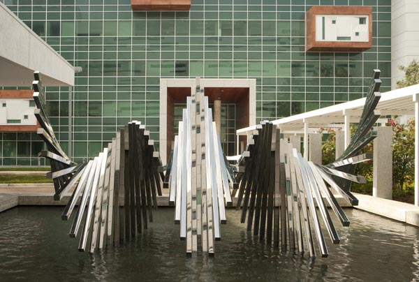 Alyson Shotz | Double Rotation | Public Art Project | USF Tampa Campus