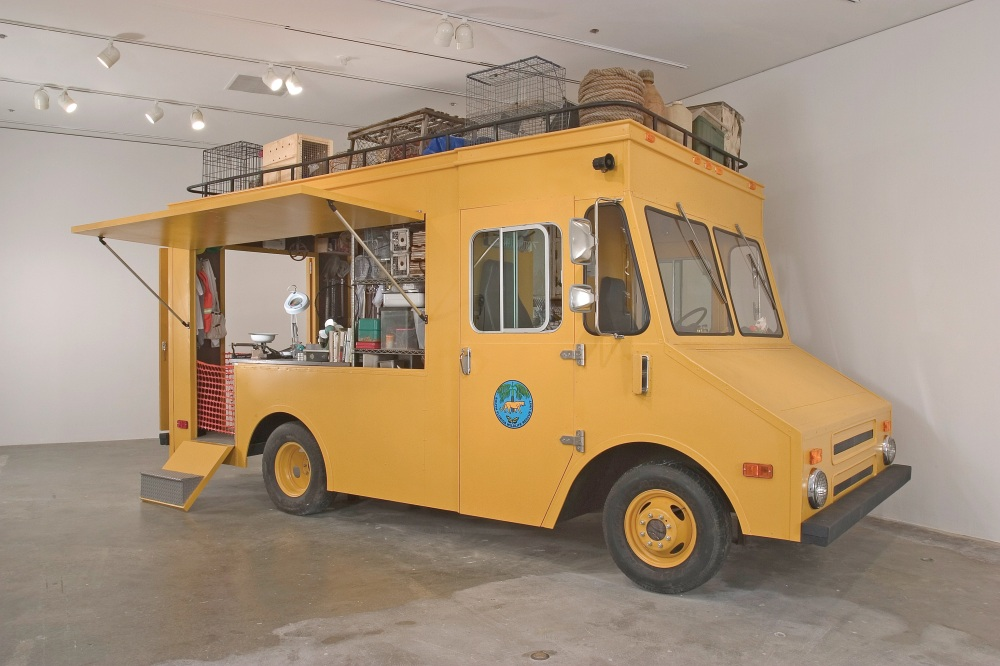 Mark Dion | The South Florida Wildlife Rescue Unit: Mobile Laboratory, 2006