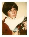 Dorothy Hamill Poloroid | Andy Warhol | 1977