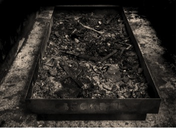 As Dad as Possible, as Dad as Beckett 2000 – 2013 Iron, ashes 200.3 x 100.2 x 28.3 cm