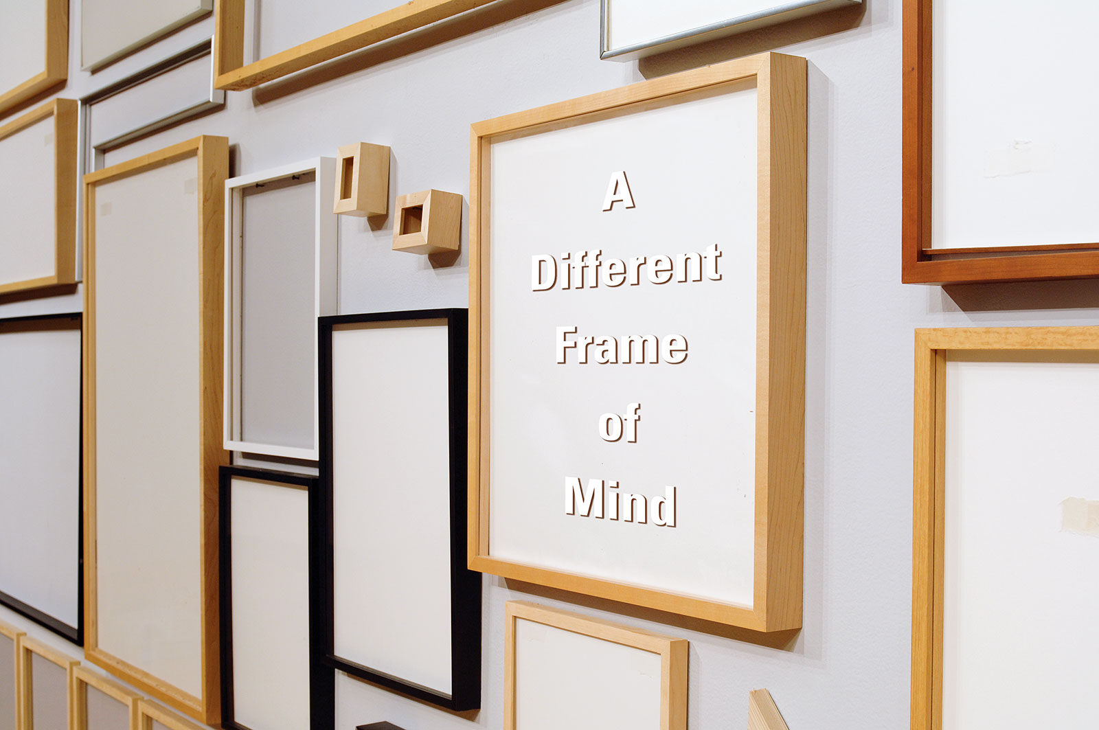 "Artists\' Interpretations of ""A Different Frame of Mind"" 