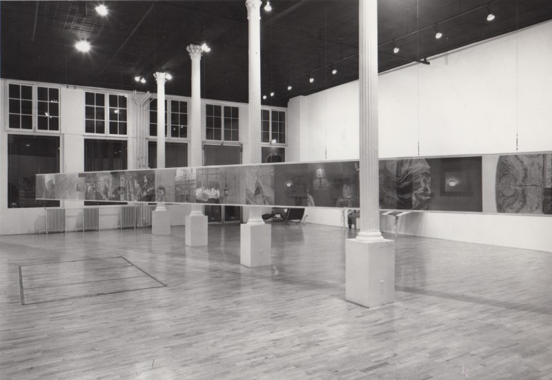 The first installation of Chinese Summerhall, at Castelli Gallery, December 31, 1982