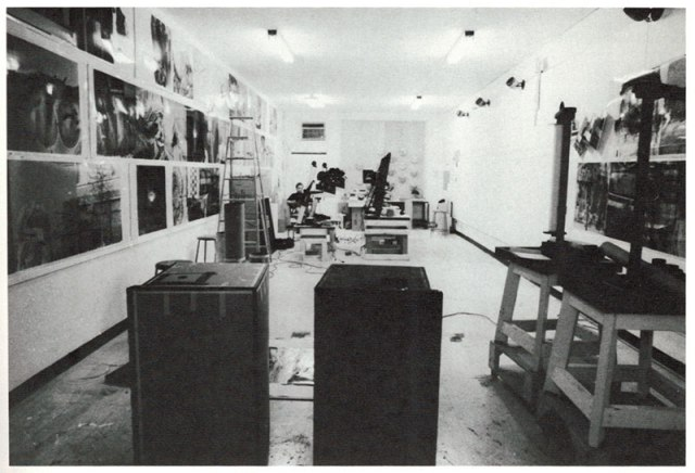 Production studio for Chinese Summerhall, 1982
