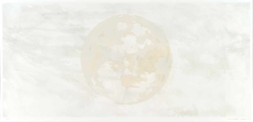 Carol Mickett and Robert StackhouseIn Tandem Moon, 2013intaglio, relief31-7/8 x 63-5/8 in.