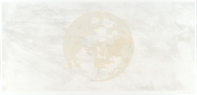 Carol Mickett and Robert StackhouseIn Tandem Moon, 2013intaglio, relief31-7/8 x 63-5/8 in.