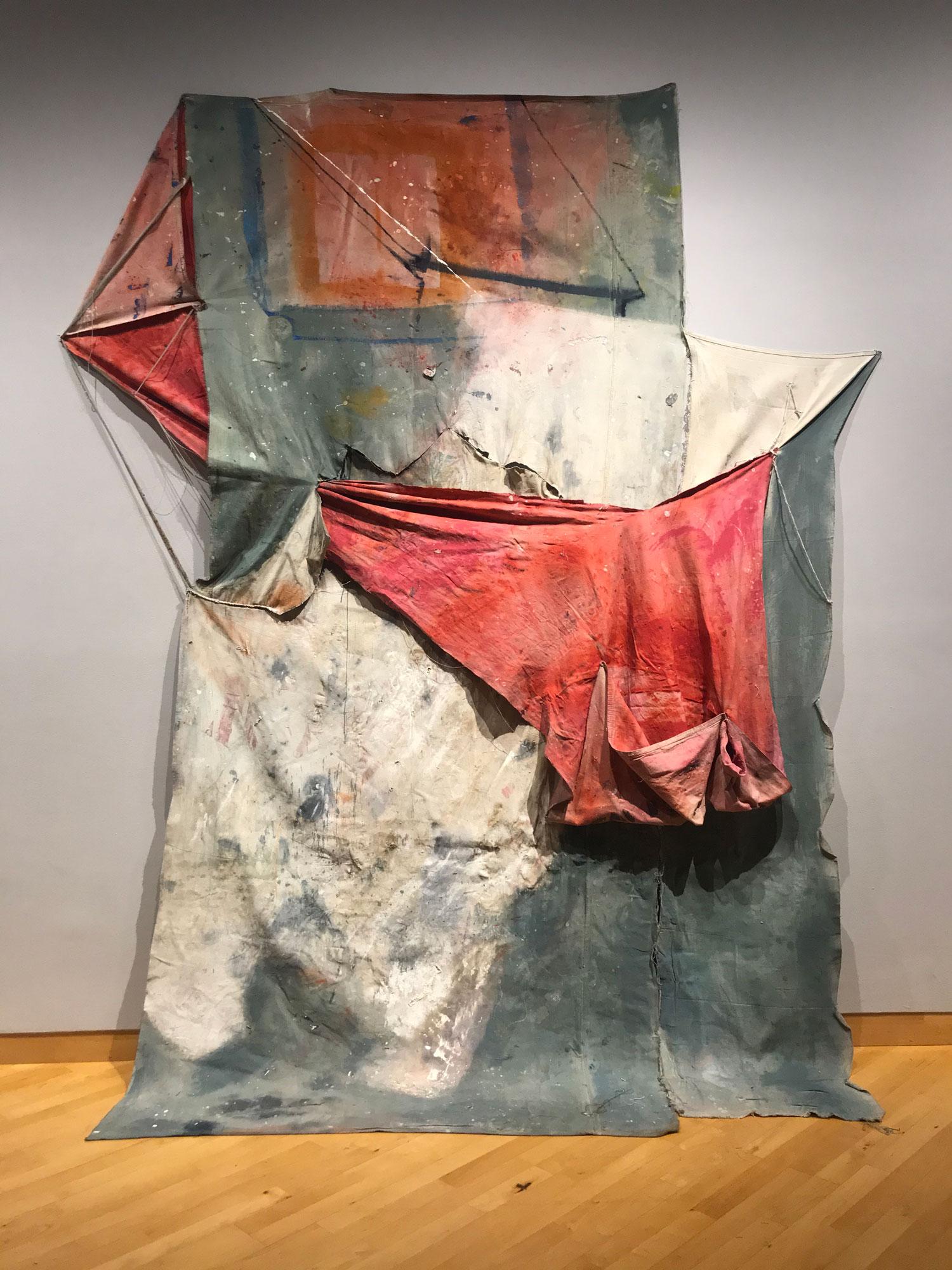 Rhonda_Massel_Donovan_002-Rhonda-Massel-Donovan,-Avanti,-Avanti,-Avanti,-2020,-oil-and-acrylic-paint,-thread,-canvas,-drapery-fabric,-138_-x-99_